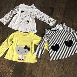 NWT 3 First Impressions Long Sleeve Shirt Bundle